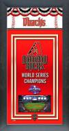 Arizona Diamondbacks Framed Championship Print