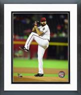 Arizona Diamondbacks Josh Collmenter 2014 Action Framed Photo