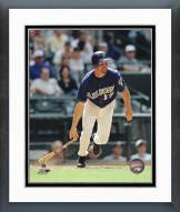 Arizona Diamondbacks Mark Grace Action Framed Photo