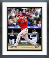 Arizona Diamondbacks Mark Trumbo 2014 Action Framed Photo