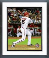 Arizona Diamondbacks Mark Trumbo 2015 Action Framed Photo