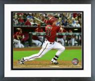 Arizona Diamondbacks Nick Ahmed 2015 Action Framed Photo