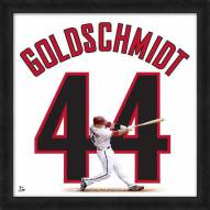 Arizona Diamondbacks Paul Goldschmidt Uniframe Framed Jersey Photo