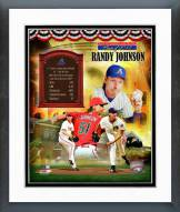 Arizona Diamondbacks Randy Johnson MLB HOF Legends Composite Framed Photo