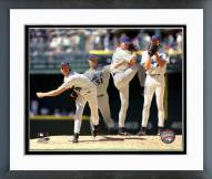 Arizona Diamondbacks Randy Johnson Multi-Exposure Framed Photo