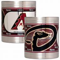 Arizona Diamondbacks Stainless Steel Hi-Def Coozie Set