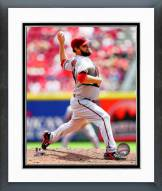 Arizona Diamondbacks Wade Miley 2014 Action Framed Photo