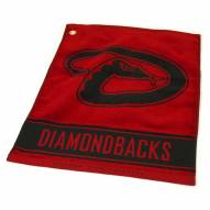 Arizona Diamondbacks Woven Golf Towel