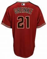 Arizona Diamondbacks Zack Greinke Replica Brick Alternate Baseball Jersey