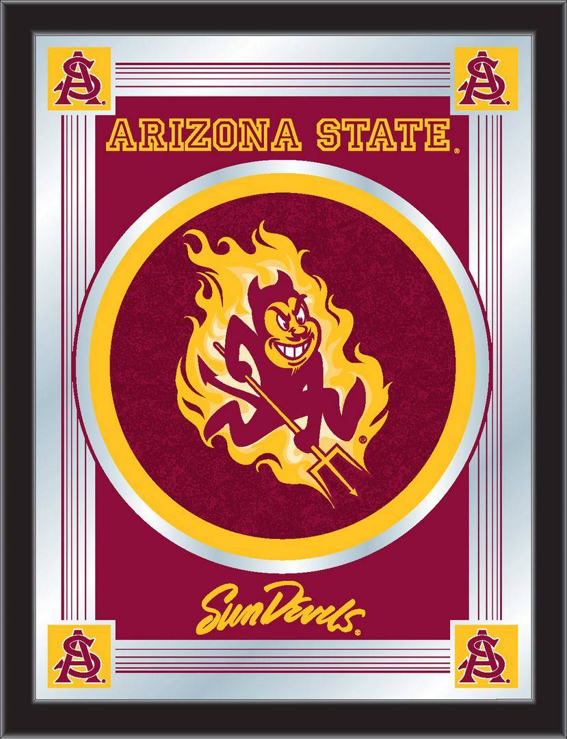 Arizona State Sun Devils Logo Mirror