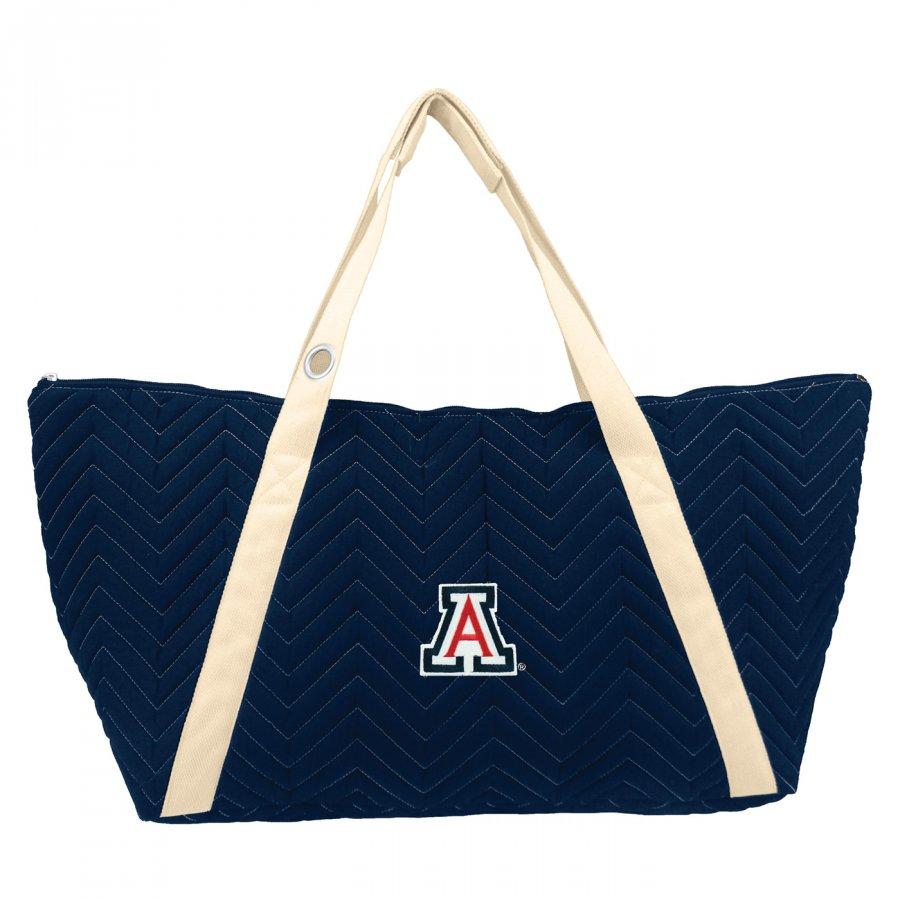 Arizona Wildcats Chevron Stitch Weekender Bag