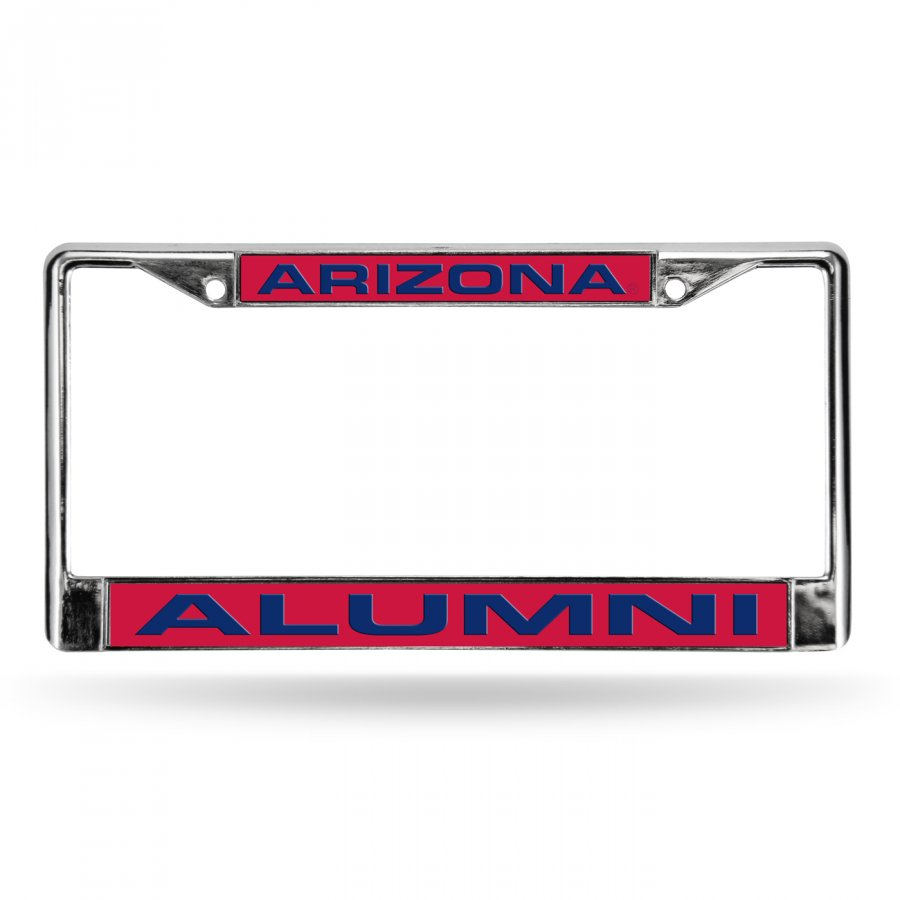 Arizona Wildcats Chrome Alumni License Plate Frame