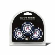 Arizona Wildcats Golf Chip Ball Markers