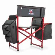 Arizona Wildcats Gray/Red Fusion Folding Chair