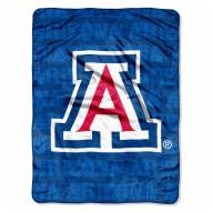 Arizona Wildcats Micro Grunge Blanket