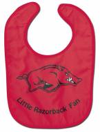 Arkansas Razorbacks All Pro Little Fan Baby Bib