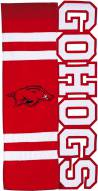 Arkansas Razorbacks Applique Flag