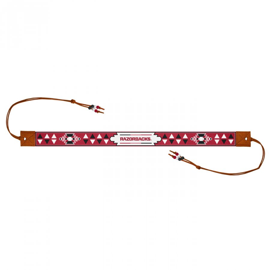 Arkansas Razorbacks Beaded Headwrap