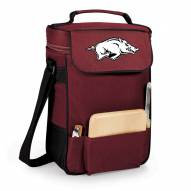 Arkansas Razorbacks Burgundy Duet Insulated Wine Bag