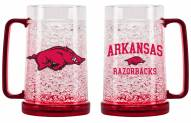 Arkansas Razorbacks Crystal Freezer Mug