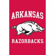 Arkansas Razorbacks Double Sided Applique Garden Flag
