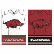 Arkansas Razorbacks Double Sided Jersey Garden Flag