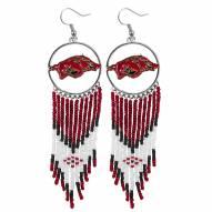 Arkansas Razorbacks Dreamcatcher Earrings