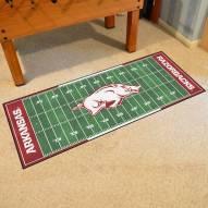 Arkansas Razorbacks Football Field Runner Rug