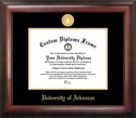 Arkansas Razorbacks Gold Embossed Diploma Frame