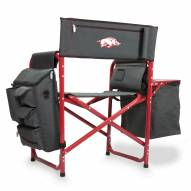 Arkansas Razorbacks Gray/Red Fusion Folding Chair
