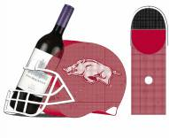 Arkansas Razorbacks Helmet Cork and Bottle Holder