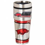 Arkansas Razorbacks Hi-Def Travel Tumbler