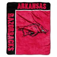 Arkansas Razorbacks Jersey Mesh Raschel Throw Blanket