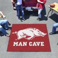 Arkansas Razorbacks Man Cave Tailgate Mat
