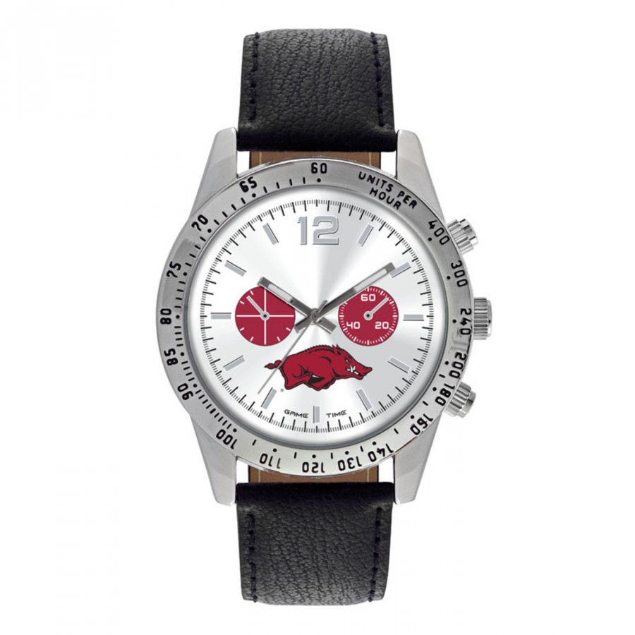 Arkansas Razorbacks Men's Letterman Watch