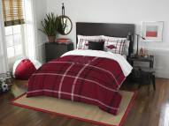 Arkansas Razorbacks Plaid Full Comforter Set