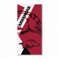 Arkansas Razorbacks Puzzle Beach Towel