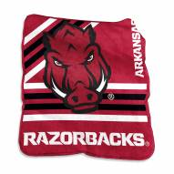 Arkansas Razorbacks Raschel Throw Blanket