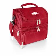 Arkansas Razorbacks Red Pranzo Insulated Lunch Box