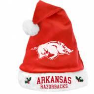 Arkansas Razorbacks Santa Hat