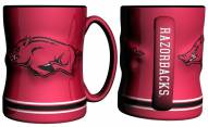 Arkansas Razorbacks Sculpted Relief Coffee Mug