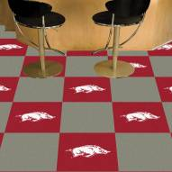 Arkansas Razorbacks Team Carpet Tiles