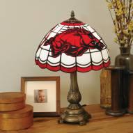 Arkansas Razorbacks Tiffany Table Lamp