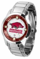 Arkansas Razorbacks Titan Steel Men's Watch