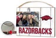 Arkansas Razorbacks Weathered Logo Photo Frame