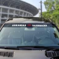 Arkansas Razorbacks Windshield Decal