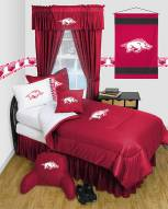 Arkansas Razorbacks Jersey Comforter & Sheet Complete Bedding Set