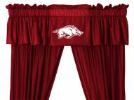 Arkansas Razorbacks NCAA Jersey Window Valance