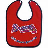 Atlanta Braves All Pro Little Fan Baby Bib
