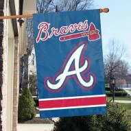Atlanta Braves Appliqué 2-Sided Banner Flag